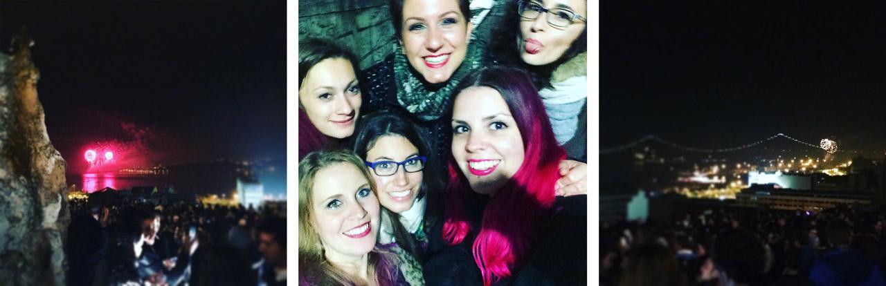 Annalisa, Carolin, Anna, Elisa, ik en Elena