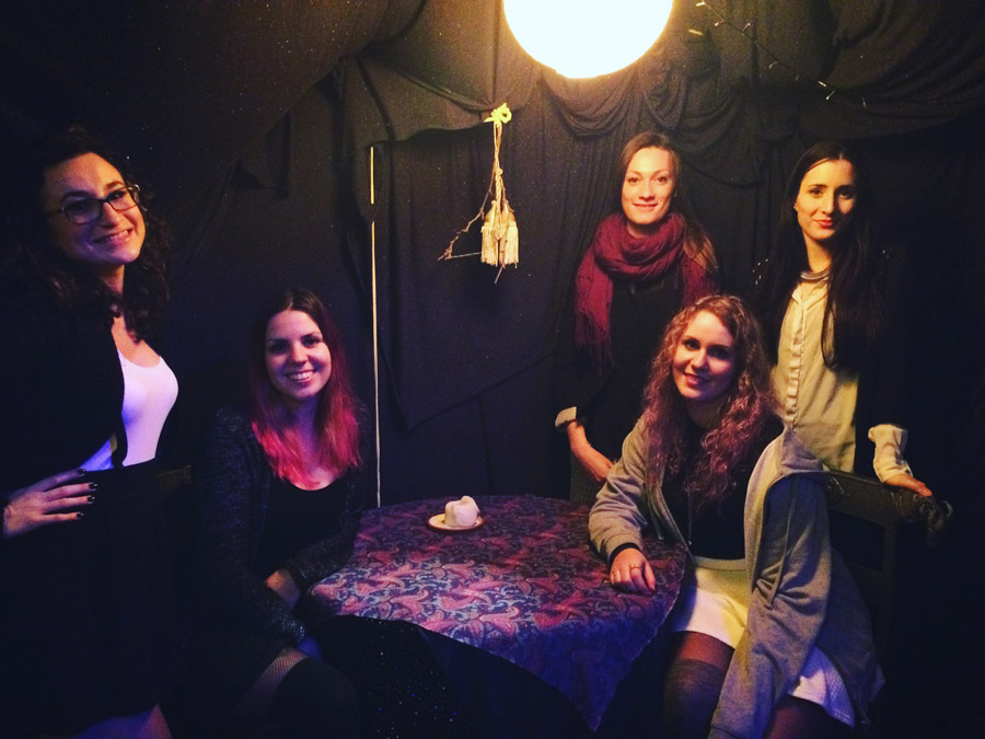 Elena, ik, Annalisa, Carolin, Sara