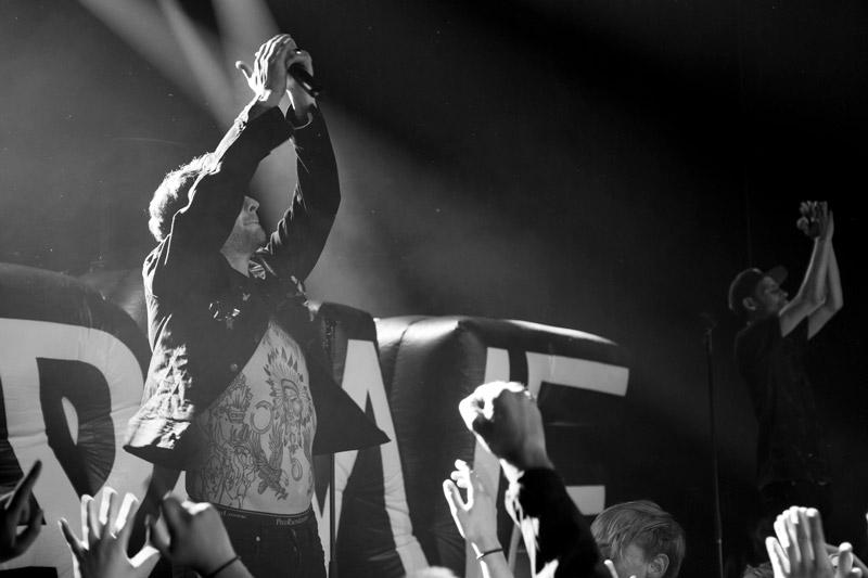 Kraantje Pappie, Crane III Release show, fotografie, concertfotografie
